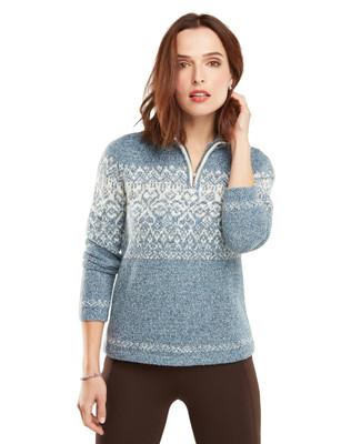 Jacquard Snowflake Sweater