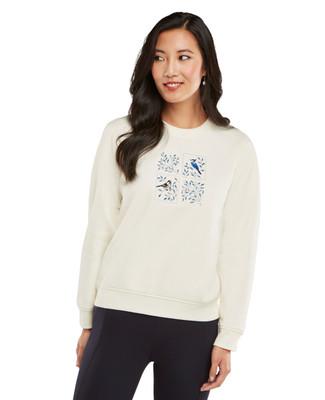 Petite - Bluejay Graphic Sweatshirt
