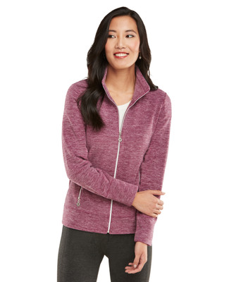 Frosted Marle Fleece Jacket