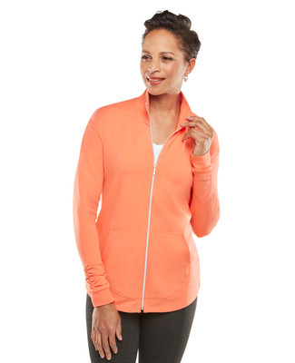 NEW - Ruched Sleeved Lightweight Jacket