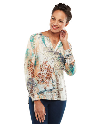 NEW - Long Sleeve Palm Top