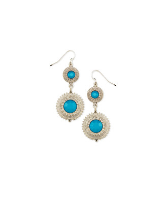 Filligree Circle Statement Earrings