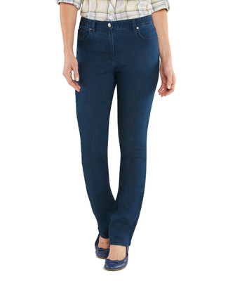 Swirl Embroidered Town Jean