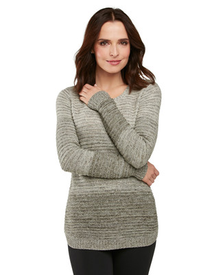 Ombre Pointell Pullover
