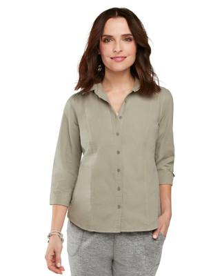 NEW - Petite Articoke Garment Dye Shirt