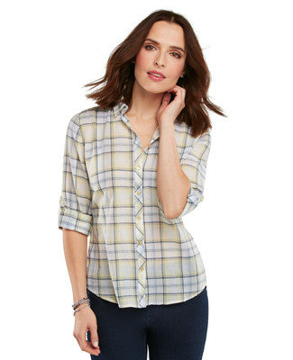 Sunshine Plaid Yarn Dye Shirt