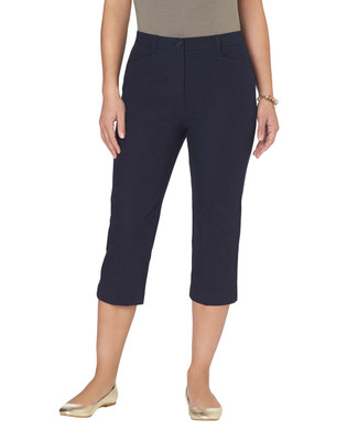 Bi-Stretch Slim Essential Capris