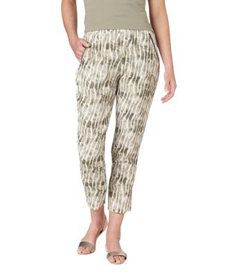 NEW - Printed Elastic Waist Pant