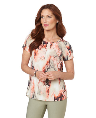Art Fair Printed Top