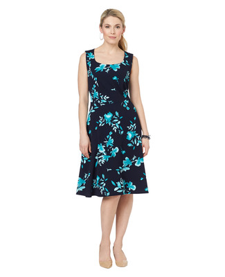 NEW - Floral Liverpool Dress