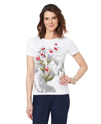 NEW - O Canada Tulip Graphic Crewneck