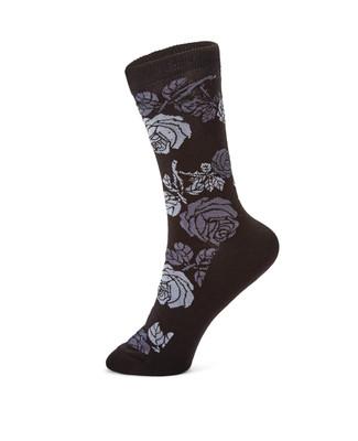 Rose Print Socks