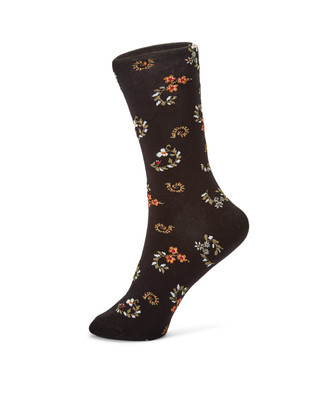 Scroll Floral Socks