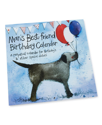 Man's Best Friend Calendar