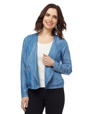 Drapey Tensel Jacket