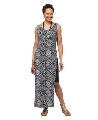 NEW - Contrast Maxi Dress