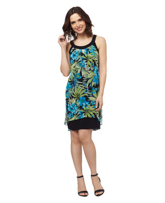 Tropical Flyaway Dress