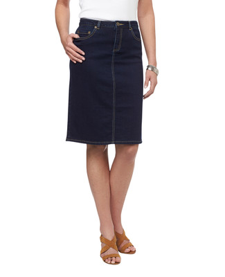 NEW - Stretch Denim Skirt