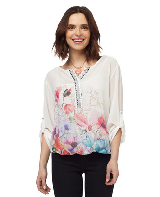 NEW - Blouson Floral Top