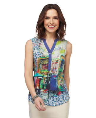 NEW - City Scene Blouse