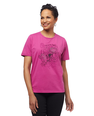 NEW - Double Stamp Butterfly Jersey Graphic Tee