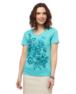 In Bloom Graphic T-shirt