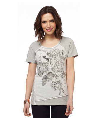 NEW - Patchwork Floral T-shirt