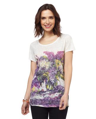 NEW - Tropical Sunset Burnout T-Shirt
