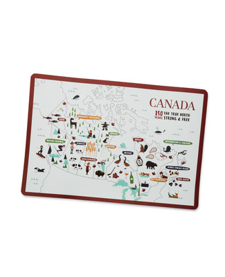 NEW - Across Canada Placemat