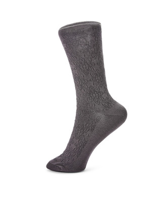 Floral Texture Bamboo sock