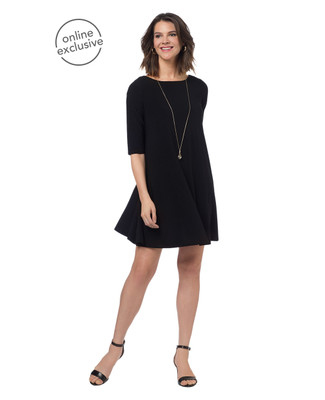 NEW - Black Swing Dress