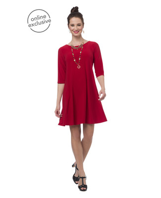NEW - Red Swing Dress