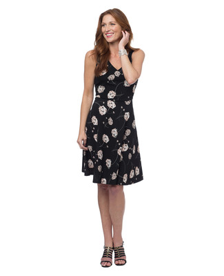 NEW - V-neck Liverpool Floral Dress