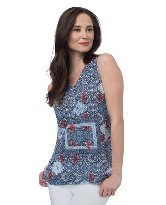 NEW - Mosaic Sleeveless Top