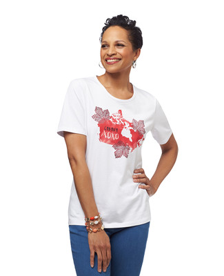 NEW - We Love Canada Jersey Tee