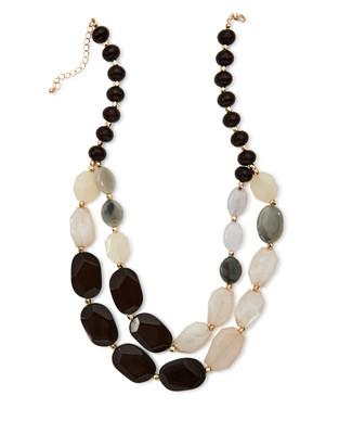 NEW - Beaded Multi Row Necklace