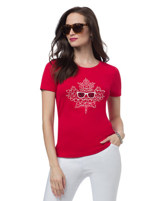 Canada 150 Glasses Jersey Tee