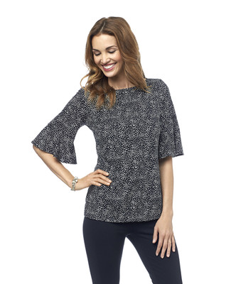 NEW - Flutter Sleeve Top