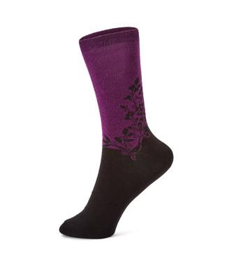 Bottoms Up Floral Sock