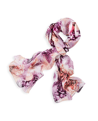 NEW - Lightweight Floral Scarf