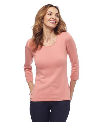 Cotton Scoopneck Sweater