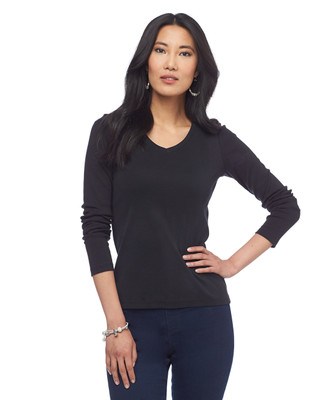 V-Neck Pullover Top