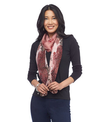 NEW - Paisley Print Scarf