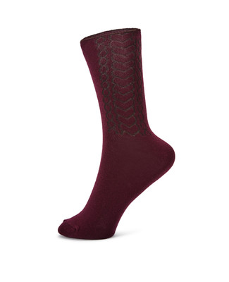 NEW - Heart Cable Sock