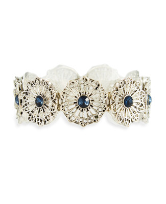 Silver Filagree Bracelet
