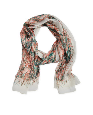 Planet Earth Georgette Scarf