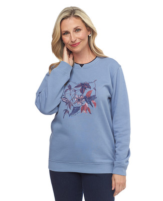 Fly With Me Notch Sweatshirt
