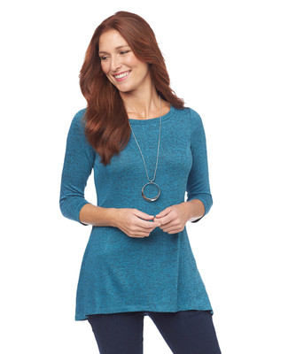 Quarter Sleeve Tunic Top