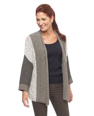 NEW - Three Quarter Sweater Cardigan