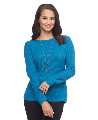 Split Back Pullover Sweater